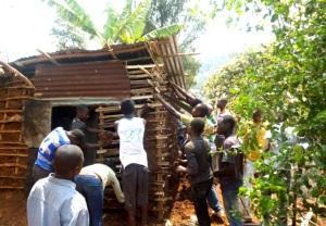 Chantier solidaire en République Démocratique du Congo